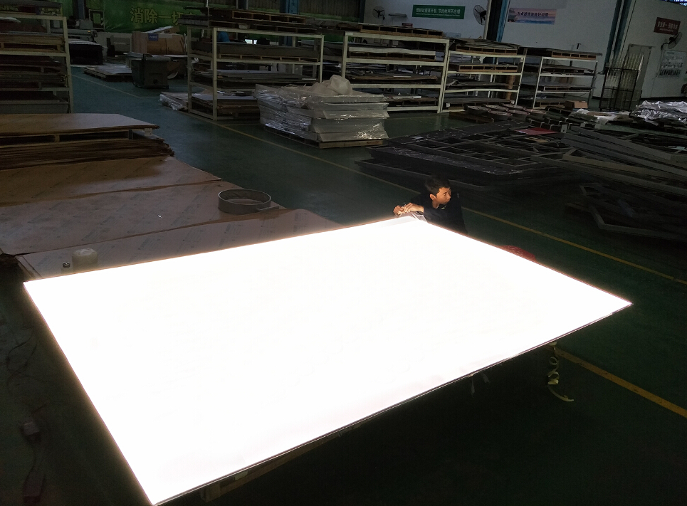 Large size and thin Light Guide Plates for panel lights made from acrylic  1-15mm
